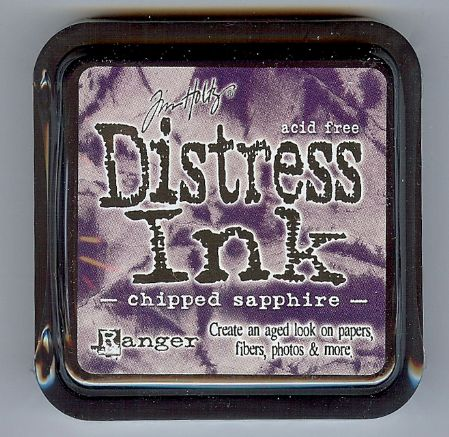 Tim Holtz Distress Ink Pad from Ranger - Chipped Sapphire